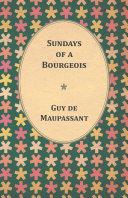 Pdf Sundays of a Bourgeois Telecharger