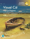 Cover of Visual C# 2014 How to Program, Global Edition