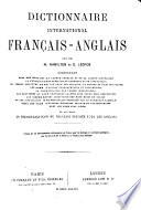 The International English and French Dictionary: French-English