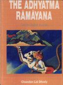 Pdf The Adhyātma Rāmāyaṇa