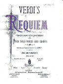 Requiem ... The English translation by C. L. Kenney. Voice and Pianoforte