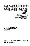 Monologues--women 2