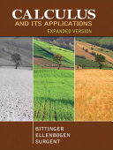 Calculus and Its Applications Expanded Version