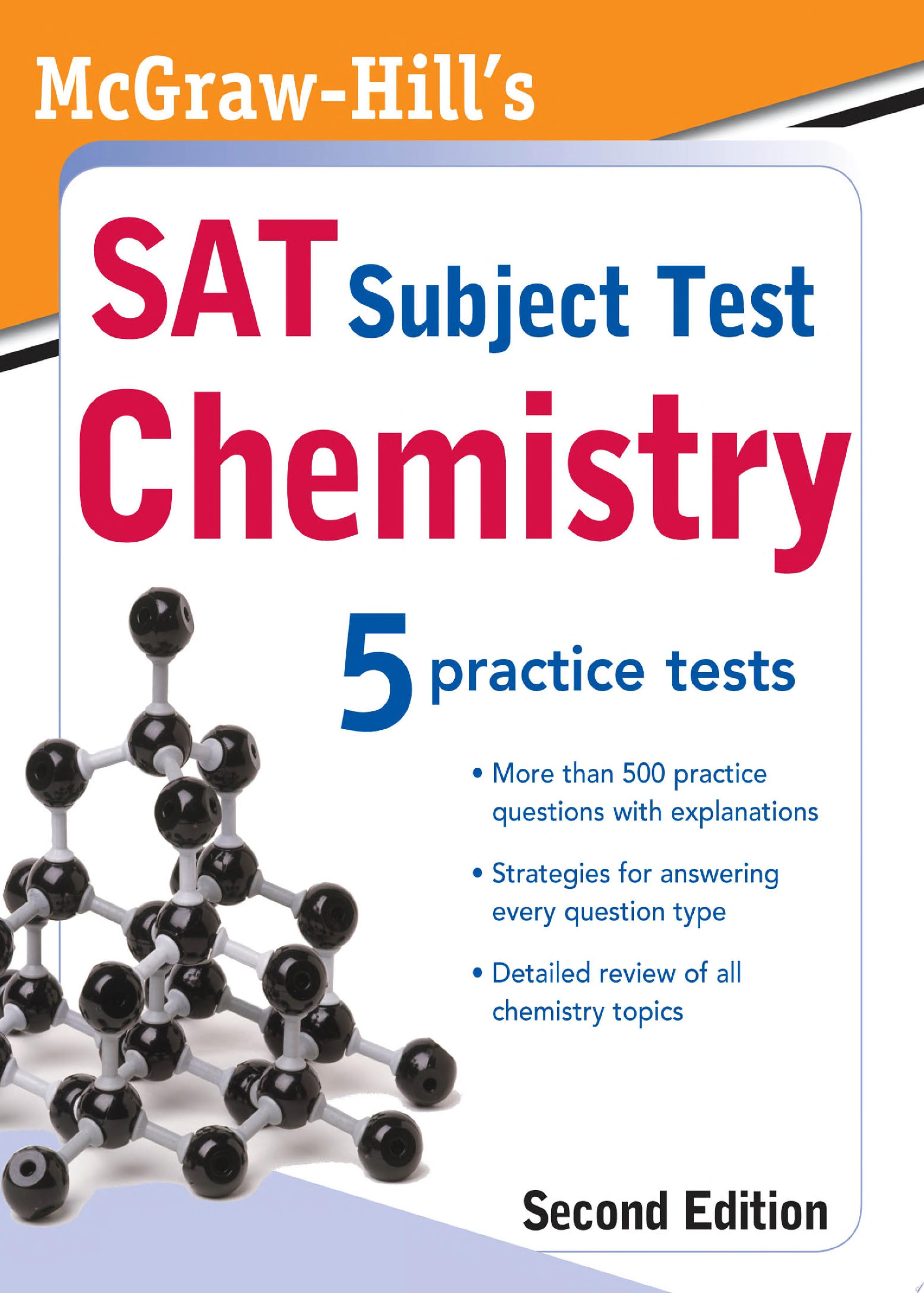 McGraw Hill s SAT Subject Test  Chemistry  2ed