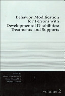 Behavior Modification for Persons with Developmental Disabilities