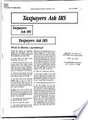 Taxpayers Ask IRS.