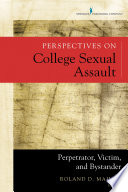 Perspectives On College Sexual Assault Book PDF