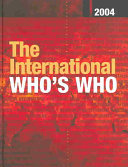 The International Who's Who 2004