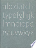 Dutch Type Book