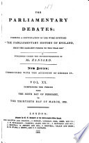 The Parliamentary Debates  official Report s       Book