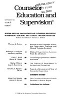 Counselor education and supervision - Bände 38-39 - Seite 51