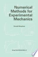 Numerical Methods for Experimental Mechanics