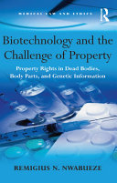 Biotechnology and the Challenge of Property Pdf/ePub eBook