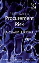 A Short Guide to Procurement Risk