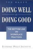 Doing Well by Doing Good Book