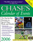 Chase s Calendar of Events 2006 Book PDF