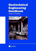 Geotechnical Engineering Handbook, Procedures