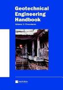 Geotechnical Engineering Handbook, Procedures