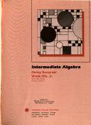 Intermediate Algebra Book