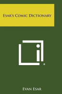 Esar s Comic Dictionary
