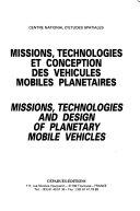 Missions  Technologies Et Conception Des V  hicules Mobiles Plan  taires
