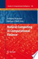Natural Computing in Computational Finance Book