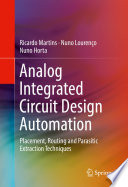 Analog Integrated Circuit Design Automation Book