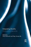 Interpreting Rurality Pdf/ePub eBook