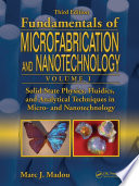 Solid State Physics  Fluidics  and Analytical Techniques in Micro  and Nanotechnology