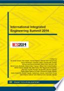 International Integrated Engineering Summit 2014