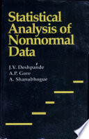 Statistical Analysis Of Nonnormal Data