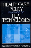 Pdf Health Care Policy in an Age of New Technologies Telecharger