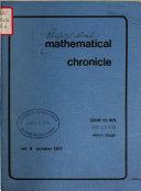 Mathematical Chronicle