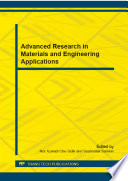 Advanced Research in Materials and Engineering Applications Book
