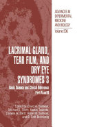 Lacrimal Gland  Tear Film  and Dry Eye Syndromes 3