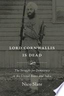 Lord Cornwallis Is Dead Book PDF