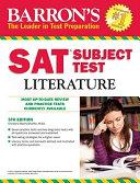 Barron s SAT Subject Test  Literature  5th Edition