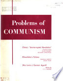Problems of Communism Book