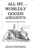 All My Worldly Goods ebook