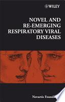 Novel and Re emerging Respiratory Viral Diseases Book