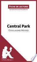 Central Park de Guillaume Musso (Fiche de lecture)