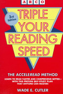 Triple Your Reading Speed ebook