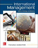 Cover of International Management: Culture, Strategy, and Behavior