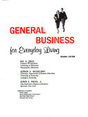 General Business for Everyday Living Book