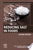 Reducing Salt in Foods