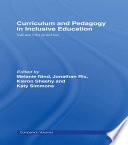 Curriculum and Pedagogy in Inclusive Education