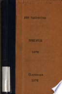 New Hampshire Register  State Year book and Legislative Manual