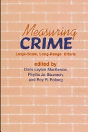 Measuring crime