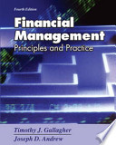 Financial Management; Principles and Practice