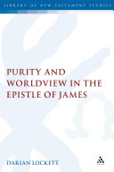 Pdf Purity and Worldview in the Epistle of James